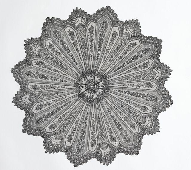Parasol Cover (France), ca. 1880
