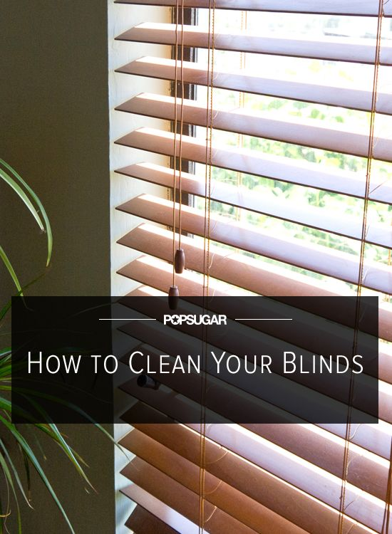No Dust Here! How to Effortlessly Clean Blinds. 1/2 and 1/2 of water and vinegar. Use a gym sock turned inside out. Use same on window. I use this on all my window and mirrors. Works great and less expensive then leading window cleaners.