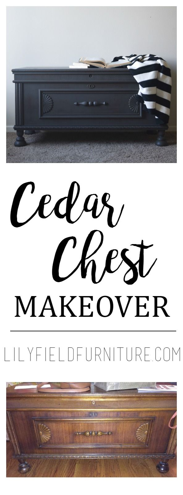 Cedar Chest Makeover