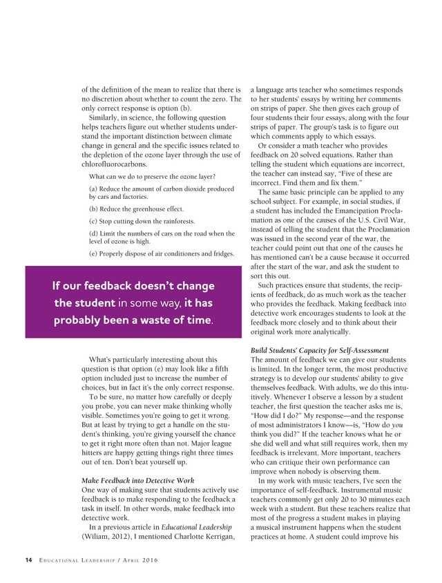Educational Leadership - April 2016 - Page 14-15