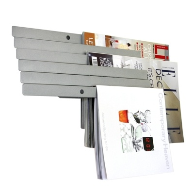 Umbra was created over 30 years ago and is currently present in over 75 countries.   |In the picture: Illuzine Floating Magazine Rack