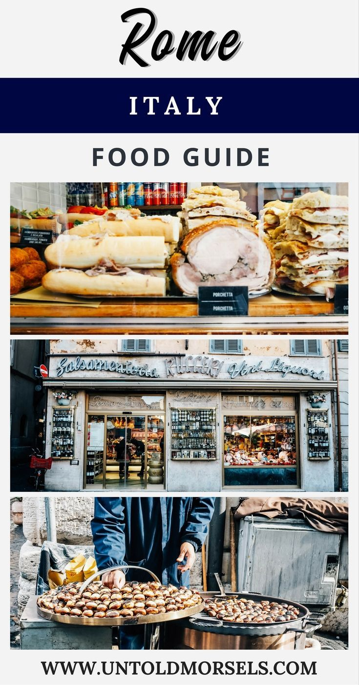 Rome Italy food guide - where to eat well in Rome - gelato, pasta, pizza. Favourite local dishes and restaurants to try - Centro Storico | Trastevere | Campo de Fiori | Eataly | carbonara  #Italy #Rome #foodguide #foodie