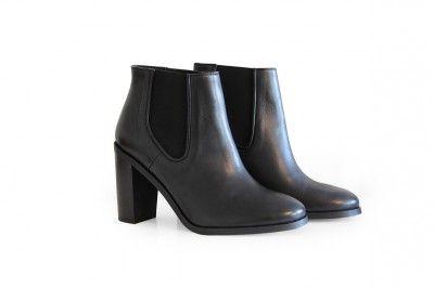 GRACE - NOIR #derbies #boots #shoes #women #leather