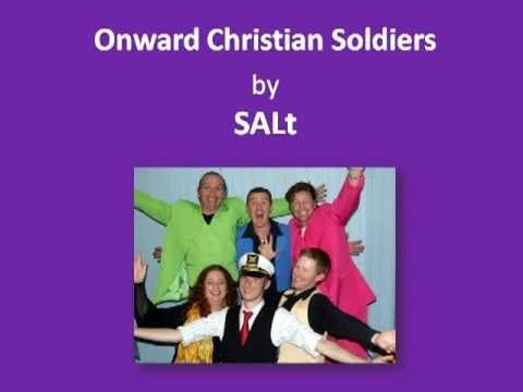 """Onwards Christians Soldiers"" this dynamic ancient joyfilled singalong favourite of ""Onwards Christian Soldiers"" available from www.magnificatmealmovement.com. Join praise and prayer now today."