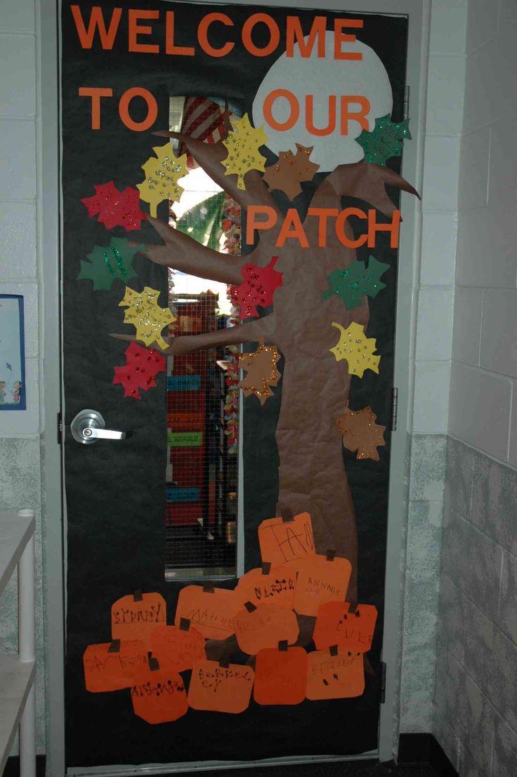 Classroom Door Decor For Fall ~ Best ideas about preschool door on pinterest