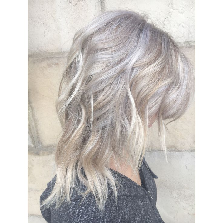 Icy blonde for fall.  Ashy blonde, Cool tones   Hair by Ashley Simpson  Fort Collins, Co
