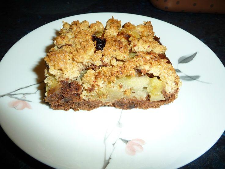 Gâteau pomme et noisette