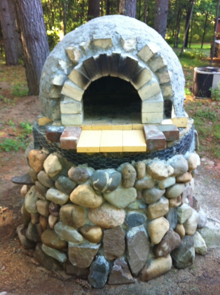 Pizza Oven Nearly Complete Needs Another Arch Entrance