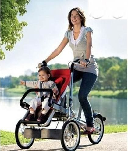child and mother stroller bike,baby & mom bicycle
