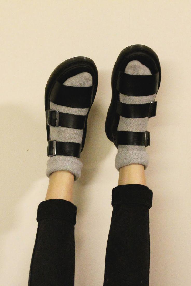 Image result for dr marten romi sandal street style lookbook