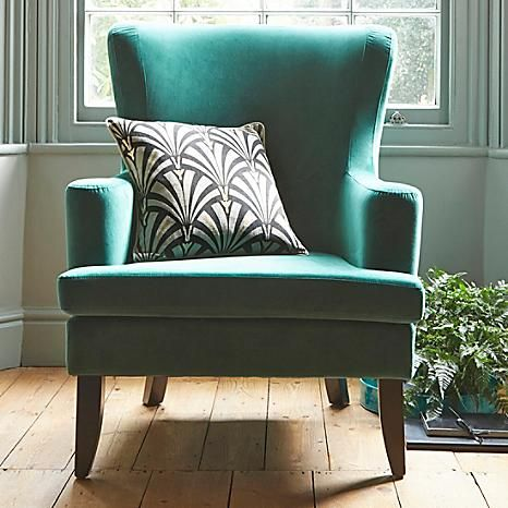 Devonshire Green Chair #Kaleidoscope #Furniture #Interiordesign