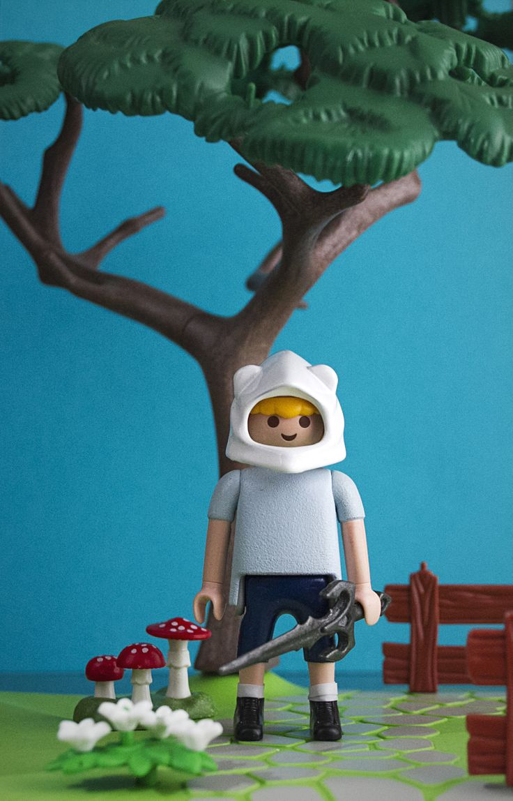 Playmobil custom Finn Adventure Time