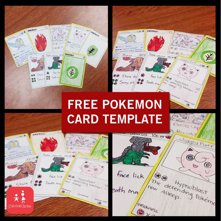 Make Your Own Pokemon Cards
