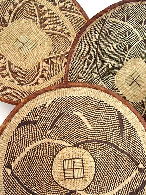 Wall Decor Using Baskets : Use woven baskets as wall art home design