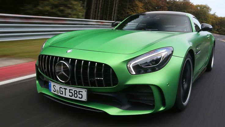 The Mercedes AMG GT R has become the fastest rear-wheel drive sports car ever to lap the Nurburging having set a time of 7:10.9.