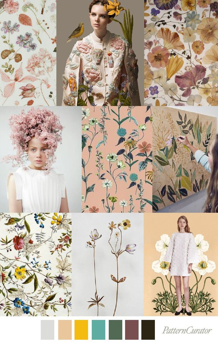 Flower Pattern Fashion Trend