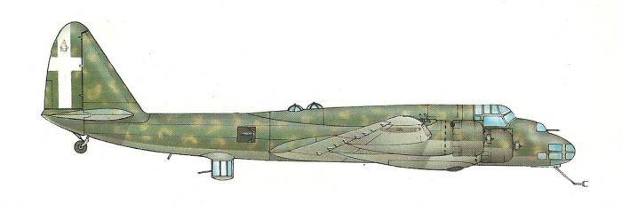 Piaggio P.108B prototipo M.M.22001