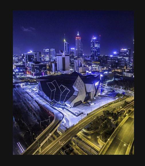 Perth Arena - Perth City photo by Airloft