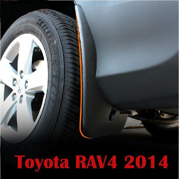 Формованной Резины Брызговики Всплеск Гвардии Для Toyota RAV 4 Аксессуары 2014