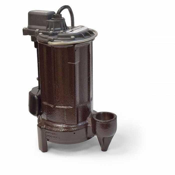 "Liberty Pumps 287-2 1/2 HP Automatic Sump / Effluent Pump w/ Vertical Float Switch, 110V ~ 120V, 25"" cord"