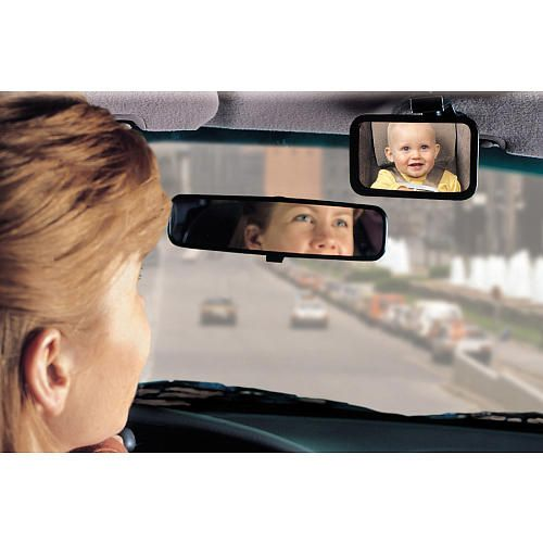 Safety 48919 Baby On Board Front Or Back View Mirror