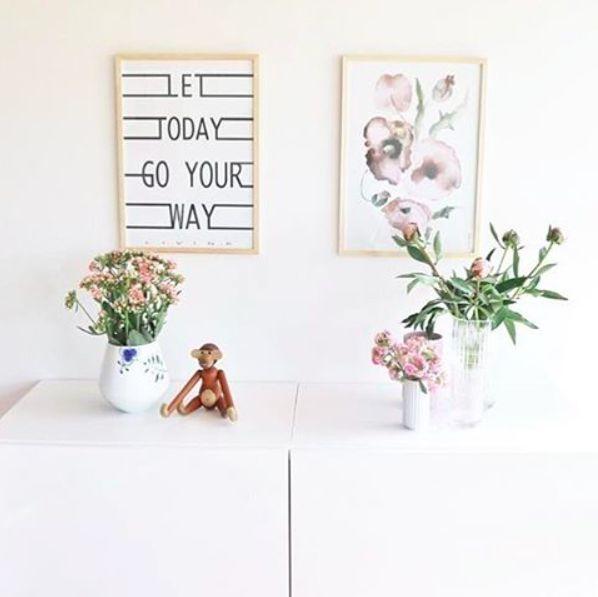 To skønne plakater fra Livink. #Let #today #Bloomie #Posters #Livink