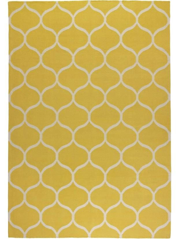 Yellow rug from forthcoming IKEA Stockholm collection.