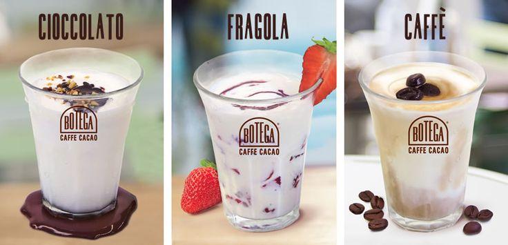 #cremosino #gelato al latte #cioccolato #caffè #fragola