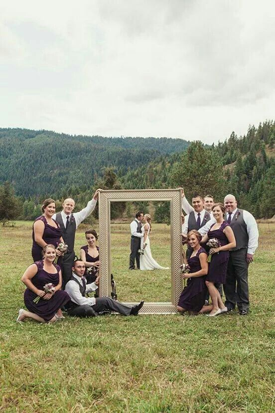 I want this but my wife and I are actually kissing off to the left so theyre just holding a picture frame for no reason
