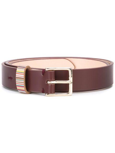 Shop Paul Smith striped detail belt.