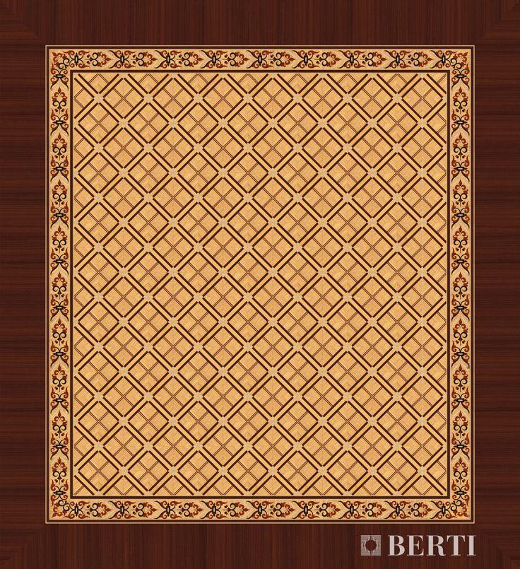 Berti Wood Flooring - Wooden marquetry parquet #parquet #parquetlovers