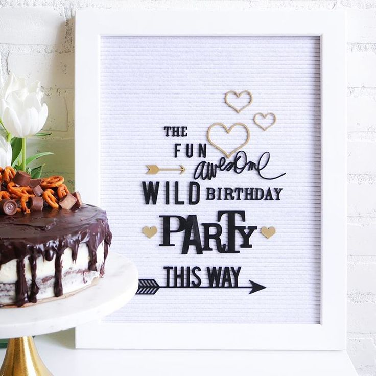 """175 Likes, 12 Comments - Jamie Avery Pate (@jamiepate) on Instagram: """"Weekend birthday vibes. Made even more fun with that Letterboard Party kit. . . #heidiswapp…"""""""