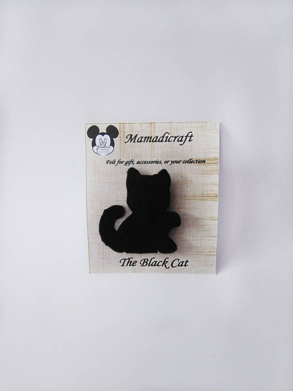 Hey, I found this really awesome Etsy listing at https://www.etsy.com/listing/531876012/brooches-or-pin-black-cat-for-gifts