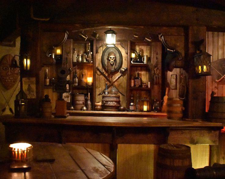 Bar Pirate Tavern Pirate Decor Tavern Decor Pirate Room