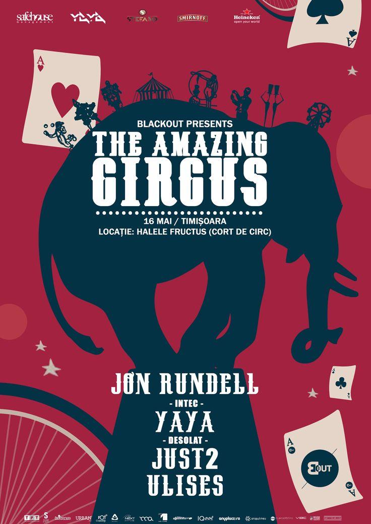 The amazing circus - Jon Rundell, Yaya.