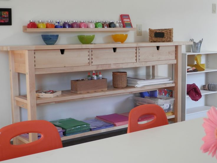 89 best montessori indoor environement images on pinterest for Ikea daycare furniture