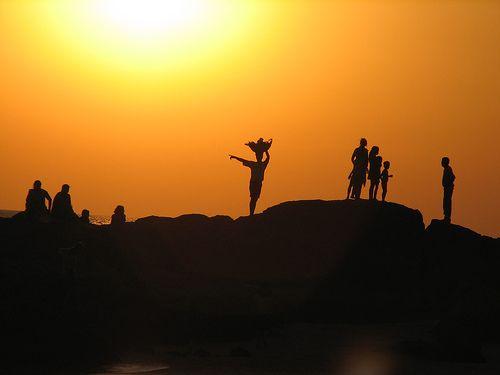 Goa - Om Beach, India. By Melanie Morris, via Flickr