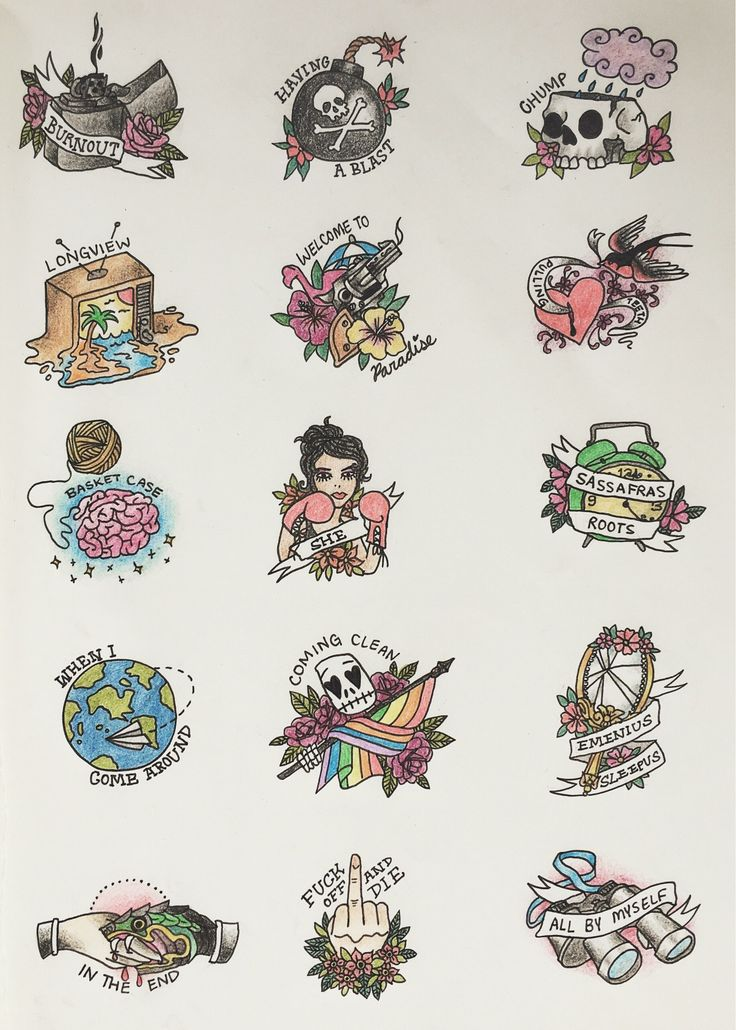 Green Day Dookie Tattoos