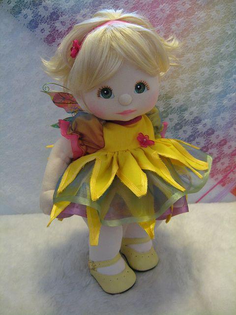 OOAK My Child Doll Spring Flower Fairy by jesska80, via Flickr