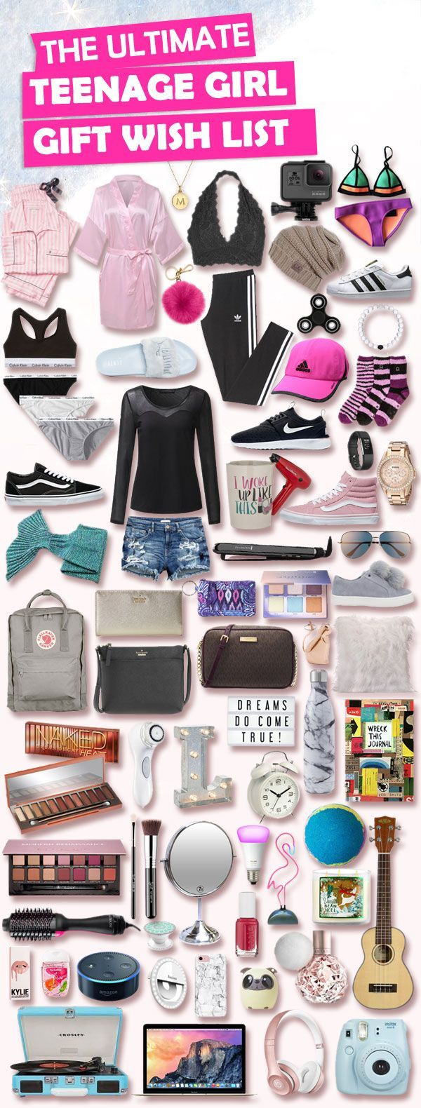 This list is lit. #goals! Has over 500+ Birthday and Christmas gifts for teenage girls.