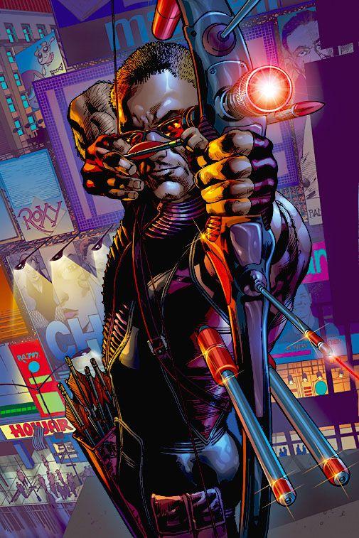 Ultimates Hawkeye by Bryan Hitch