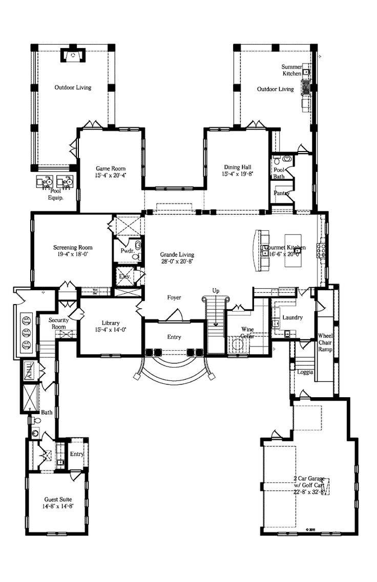 190 best blueprints images on pinterest dream house plans