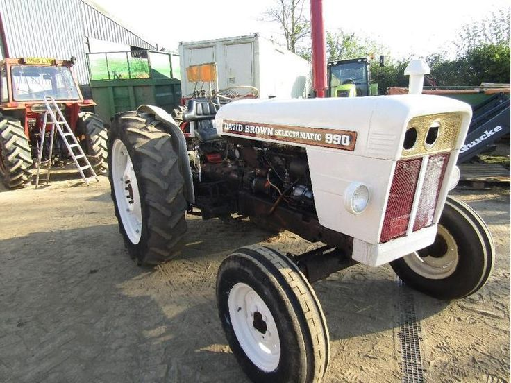 DAVID BROWN C/W POWER STEERING Tractors in Urgashay | Auto Trader Farm
