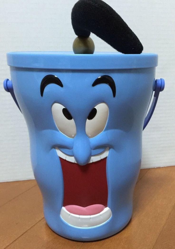 Tokyo Disney Resort Popcorn Bucket Genie from Aladdin