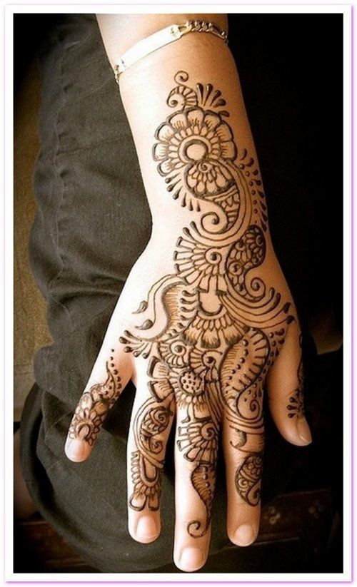 ✖️HAIR AND BEAUTY  :  HENNA FOR HANDS / حنا / MEHNDI /  حِنَّاء : More Like This Pin At FOSTERGINGER @ Pinterest ✖️