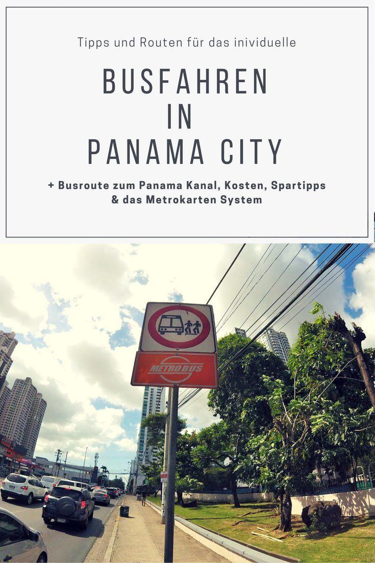 Unsere 12 besten Tipps für das Busfahren in Panama City! Wir erklären dir wie das Bussystem mit den Metrokarten funktioniert, wie hoch die Kosten für diverse Fahrten mit dem Bus sind und stellen dir die interessantesten Routen vor für das Busfahren in deinem Panama Urlaub. Individuell und günstig! #reisebericht #reiseblog #panama #transport