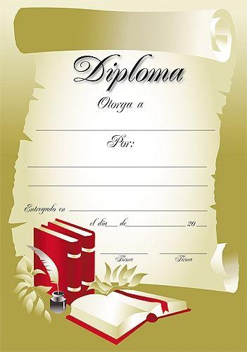 Diplomas De Cursos Para Imprimir Tattoo                                                                                                                                                      Más