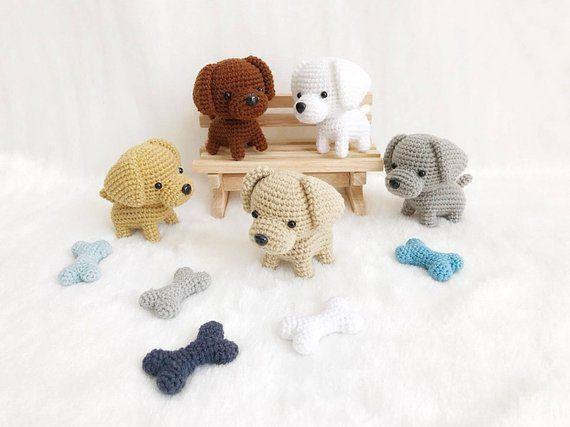 Baby Mobile Labrador Puppy Gnag Crochet, Dog baby mobile, Nursery decor,Dog croc…   – Handarbeiten: Figuren