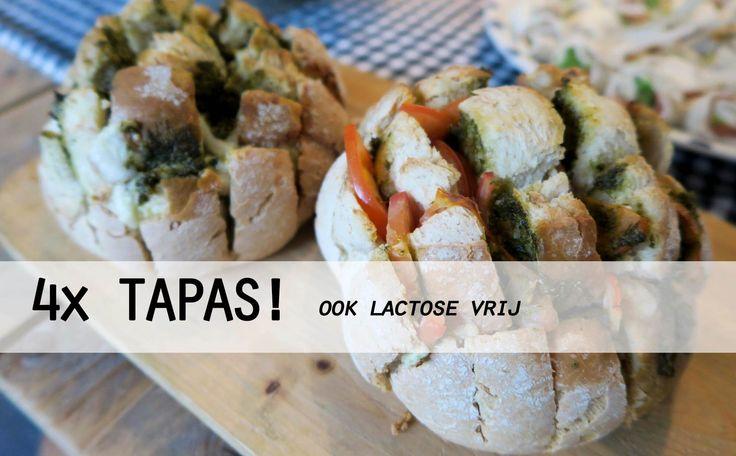 4x TAPAS Recepten – Lactose Vrij!