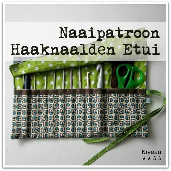 Patroon Haaknaalden Etui - By MiekK